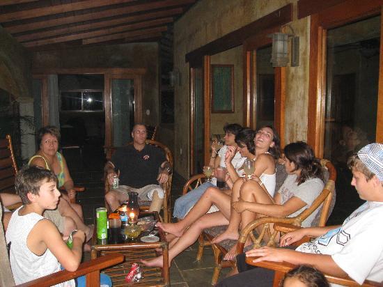Finca Las Nubes: the group