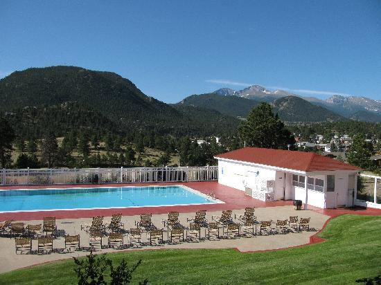 Stanley Hotel: View of the Pool Area