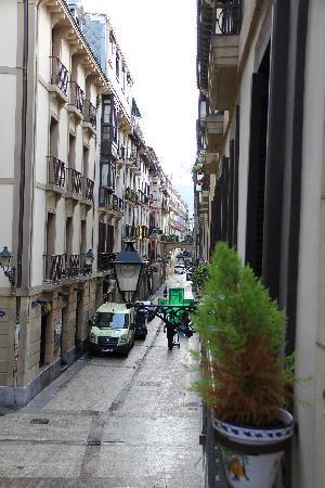 Pension Edorta: Balcony view