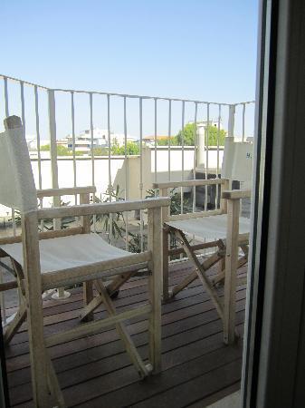 Hotel Giulietta: balconcino camera