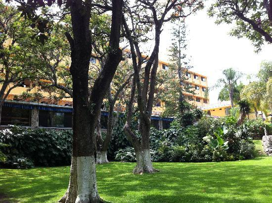 Hotel Spa Ixtapan: Hotel from spa grounds