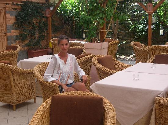 Hotel Villa Ida: saletta interna