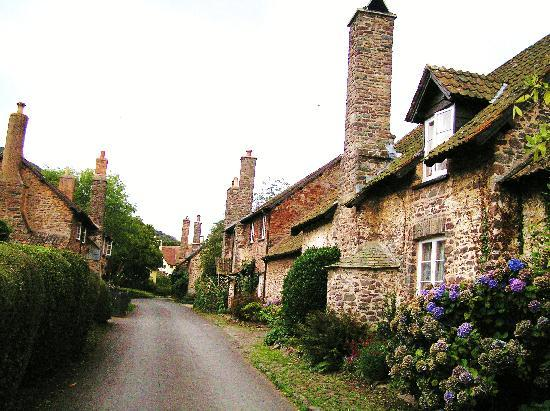 Tudor Cottage: The local street