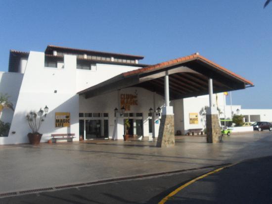 TUI MAGIC LIFE Fuerteventura : front of the hotel