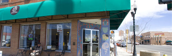 Milagros Coffee House : Milagros is located in the heart of downtown Alamosa at Main & State