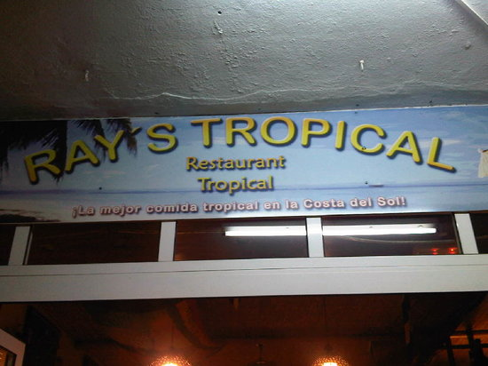 Rays Tropical : Sign!