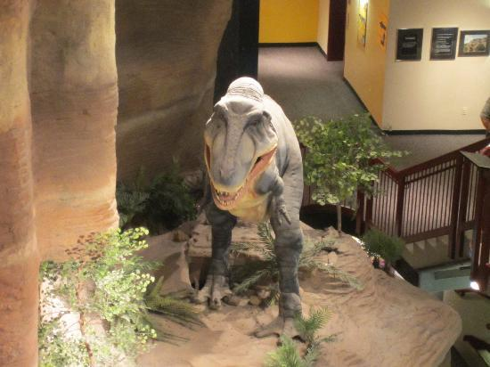 dinosaur model - Picture of Arizona Museum of Natural History ...