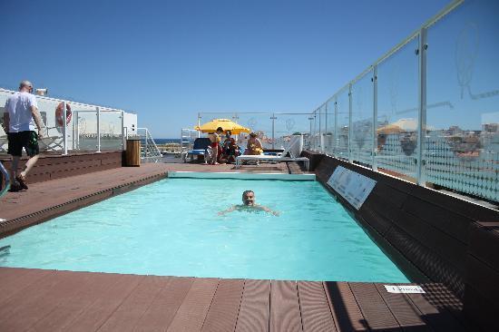Piscina en cubierta fotograf a de hotel marina rio lagos tripadvisor - Techo piscina cubierta ...