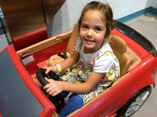 Discovery Place Kids-Huntersville : The automated teller feature is popular