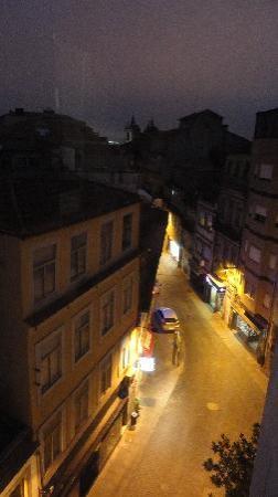 AAE Santo Andre: vistas desde el balcón de noche