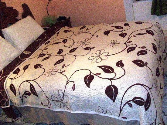 El Zopilote Mojado: Bedspread