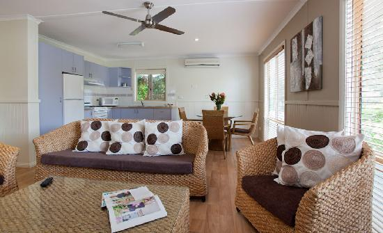 NRMA Ocean Beach Resort and Holiday Park: Gumnut Family Villa