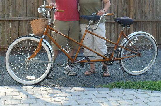 Tandem Bike Inn: tandem bike