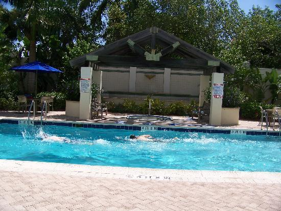 SpringHill Suites by Marriott Boca Raton: Hotel pool