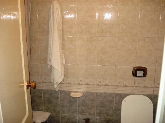 Hotel Campo Alegre: baño
