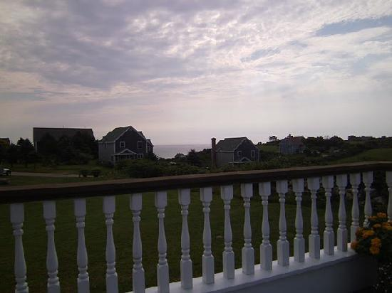 From the deck - Rose Farm Inn
