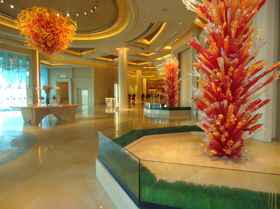 Borgata Hotel Casino & Spa: Beautiful lobby