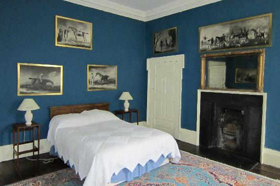 Roundwood House: Blue room