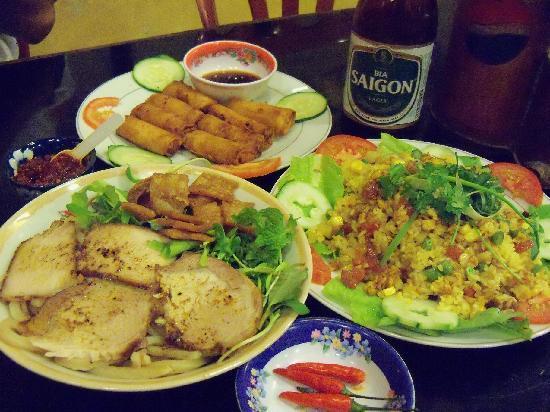 Van Loc Restaurant: Cao Lao, Cantonesse Fried Rice, Pork Spring Rolls, Local Beer