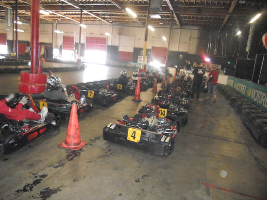 Fast Lap Indoor Kart Racing: The Karts