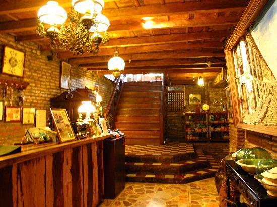 Reception Area of Grandpa's Inn