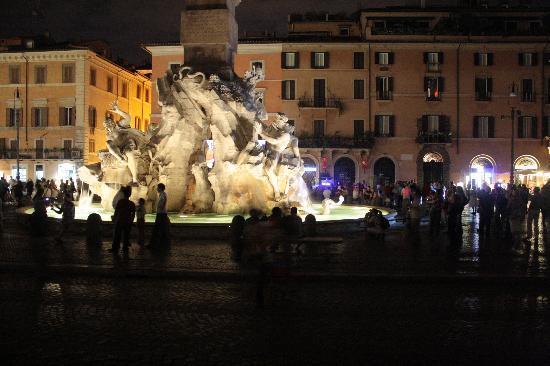 Hotel Bramante: Piazza Novona