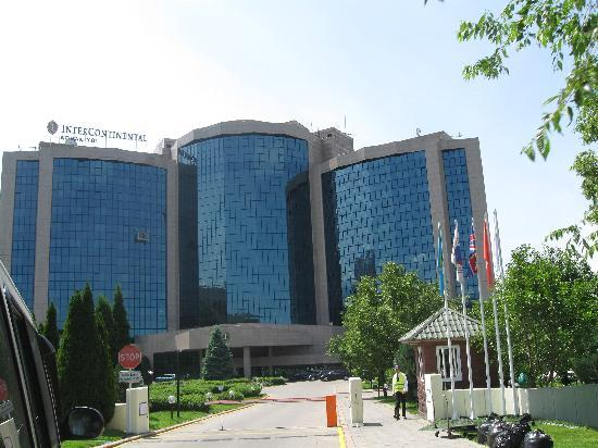 InterContinental Almaty Hotel: Outside the hotel