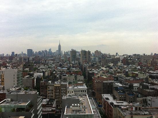โรงแรมเชอราตันทรีเบกา นิวยอร์ก: View from Club Lounge
