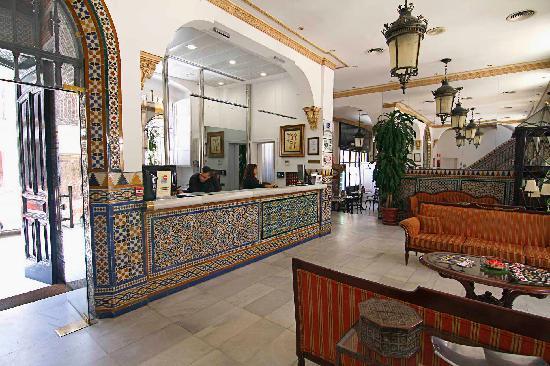 Hotel San Gil: Reception