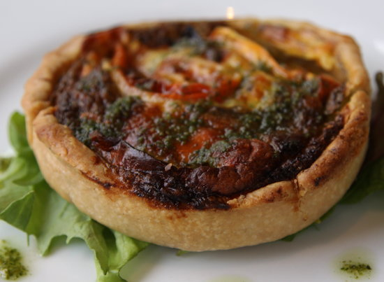 The Bolingbroke: Tart tasted better than it looks here!