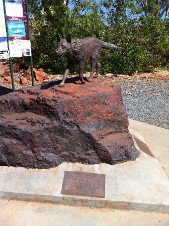 "Karratha International Hotel: A  Famous Local ""Red Dog"""