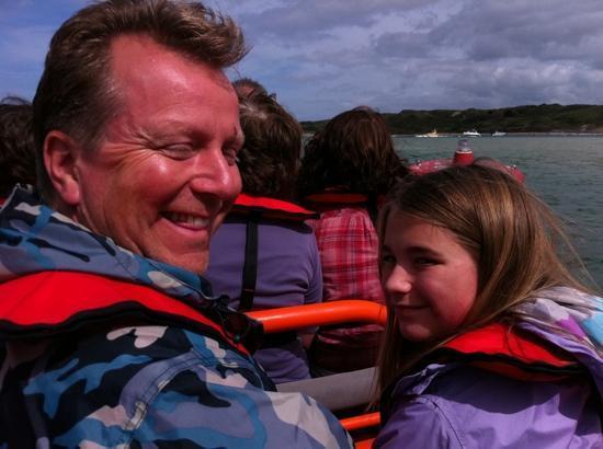 Padstow Sealife Safaris: RIB in the estuary