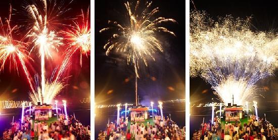 Risabu Cruise: 환상적인 대형 불꽃쇼