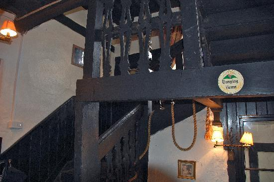 Skirrid Mountain Inn: The Hanging Beam, The Skirrid Inn.
