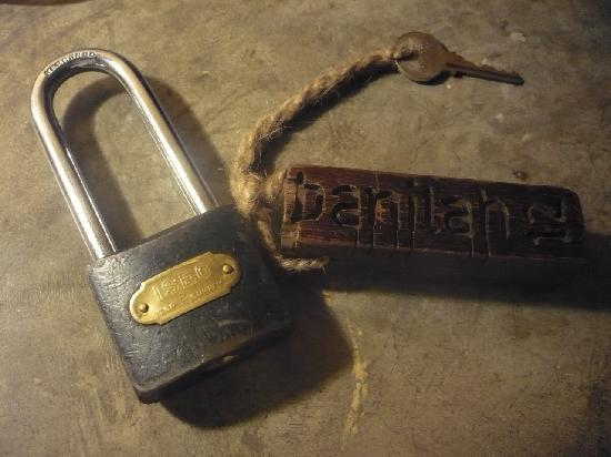 Banilah: The key and its holder cost 200 baht if you lost it