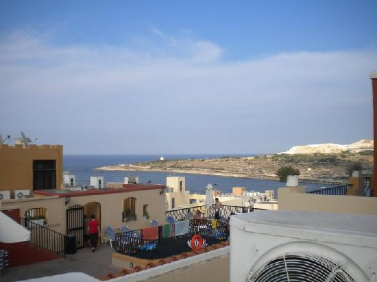 Soreda Hotel: One of the views from the top roof