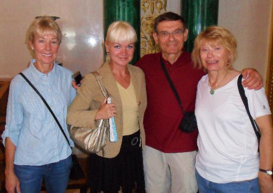 UlkoTours : Mark Levy group on tour with Diana