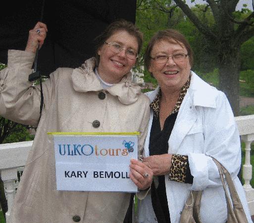 UlkoTours : Kary Bemoll on tour with Luba