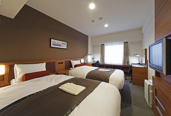Hotel MyStays Shinurayasu: twin room