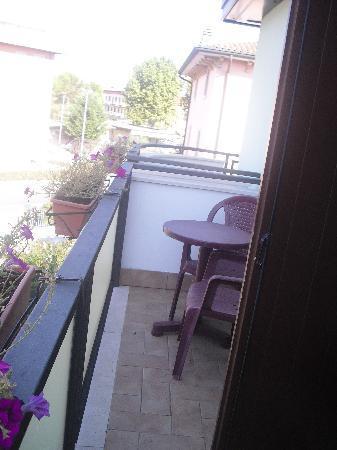 Hotel La Nuvola: terrazza