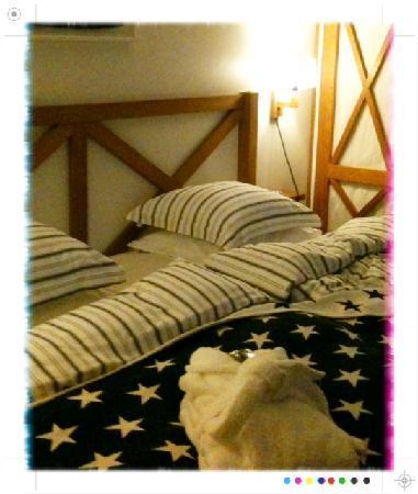 Hotel J : Sängen!