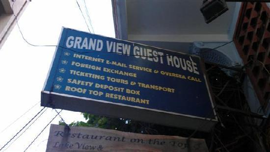 Grand View Guest House: It's not grand, and there's no view.