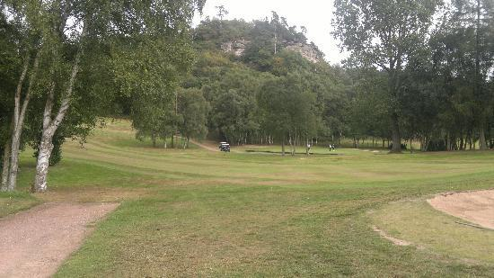 Hawkstone Park Hotel: Golf below the Follies
