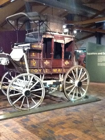 Cobb+Co Museum: the royal mail