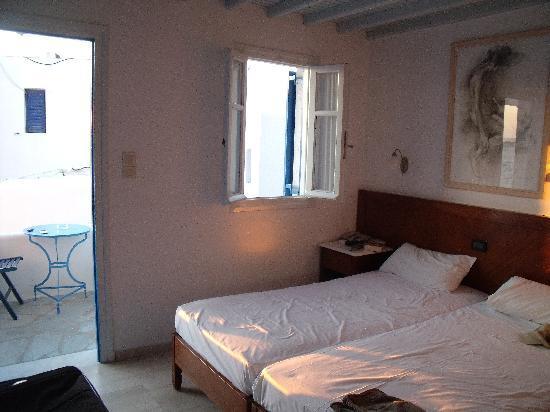 Myconian Inn Hotel: Chambre