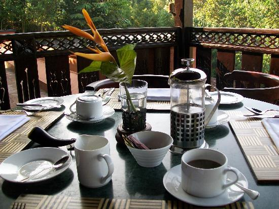 MesaStila Resort and Spa: Coffee in the morning