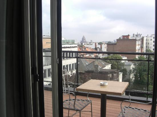 Catalonia Brussels: terraza