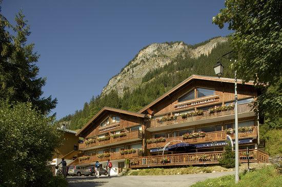 Pralognan-la-Vanoise, فرنسا: L'Edelweiss, chalet au pied des pistes