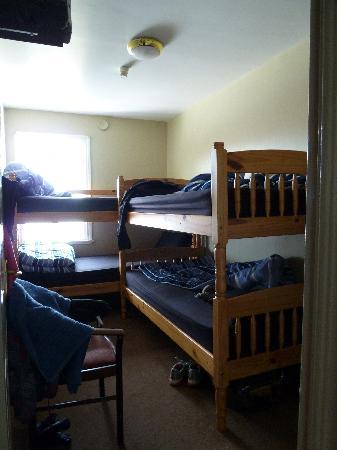Finnegan's Hostel: Four beds, but very tight.