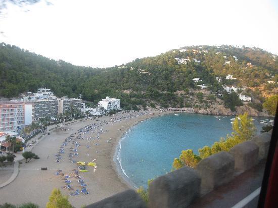 Veraclub Ibiza: vista dall'alto